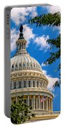 Capitol Of The United States Portable Battery Charger