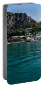 Capri Island Silky Smooth Emerald And Aquamarine Portable Battery Charger