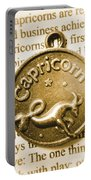 Capricorn Zodiac Lucky Charm Portable Battery Charger