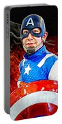 Captain America Super Hero Portable Battery Charger
