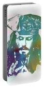 Captain Jack Sparrow Portable Battery Charger