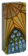 Chapter House Ceiling, York Minister Portable Battery Charger