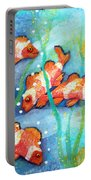 Captivating Clown Fish Portable Battery Charger