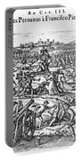 Capture Of Atahualpa, 1532 Portable Battery Charger