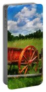 Car - Wagon - The Old Wagon Cart Portable Battery Charger