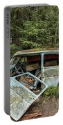 Car Graveyard In Smaland Portable Battery Charger