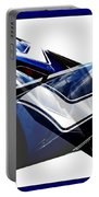 Car Reflection As Art 3 Portable Battery Charger