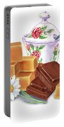 Caramel Chocolate Portable Battery Charger