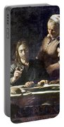 Caravaggio: Emmaus Portable Battery Charger