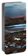Fort In Carcavelos Beach Portable Battery Charger