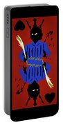 Card Hierarchy Jack Of Hearts Portable Battery Charger