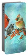 Cardinal Family Three Kids Portable Battery Charger