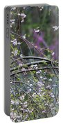 Cardinal In Flowering Tree Portable Battery Charger