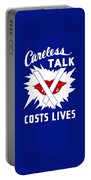 Careless Talk Costs Lives  Portable Battery Charger
