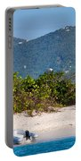 Caribbean Island Portable Battery Charger