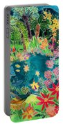 Caribbean Jungle Portable Battery Charger
