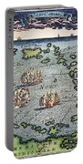 Caribbean Map Portable Battery Charger