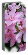 Caribbean Oleander Portable Battery Charger