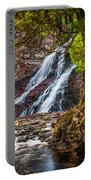 Caribou Falls In Fall Portable Battery Charger