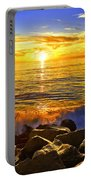 Carlsbad Sunset Portable Battery Charger