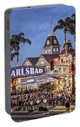 Carlsbad Village Sign Lighting Portable Battery Charger
