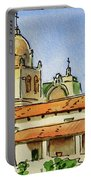 Carmel By The Sea - California Sketchbook Project  Portable Battery Charger by Irina Sztukowski