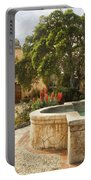 Carmel Church And Fountain Portable Battery Charger