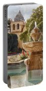 Carmel Fountain Courtyard Portable Battery Charger