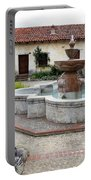 Carmel Mission Courtyard Portable Battery Charger