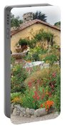 Carmel Mission Courtyard Garden Portable Battery Charger