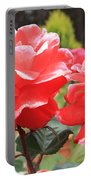 Carmel Mission Roses Portable Battery Charger