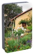 Carmel Mission With Path Portable Battery Charger