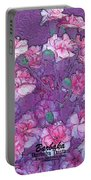 Carnation Inspired Art Portable Battery Charger