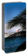 Carnival Docked At Grand Cayman Portable Battery Charger