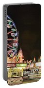 carnival Fun and Food Portable Battery Charger by James BO  Insogna