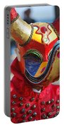 Carnival Red Duck Portrait Portable Battery Charger