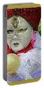 Carnivale Mask #10 Portable Battery Charger