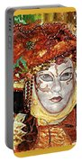 Carnivale Mask #12 Portable Battery Charger