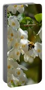 Carolina Silverbell And Bee Portable Battery Charger