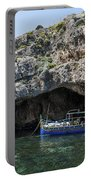 Caroline Cave And Maltese Traditional Boat Portable Battery Charger