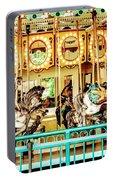 Carousel - Como Zoo, St. Paul, Minnesota Portable Battery Charger