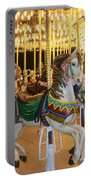 Carousel Horse 4 Portable Battery Charger