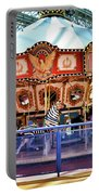 Carousel Inside The Mall Portable Battery Charger