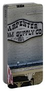 Carpenter Farm Supply Co Sign Portable Battery Charger