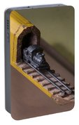 Carpenter Pencil Carved Into A Train By Cindy Chinn Portable Battery Charger