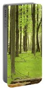 Carpeted Forest Portable Battery Charger