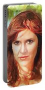Carrie Fisher Portable Battery Charger