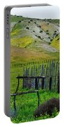 Carrizo Plain Ranch Wildflowers Portable Battery Charger