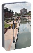 Carroll Creek Park In Frederick Maryland Portable Battery Charger