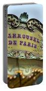 Carrousel De Paris Portable Battery Charger